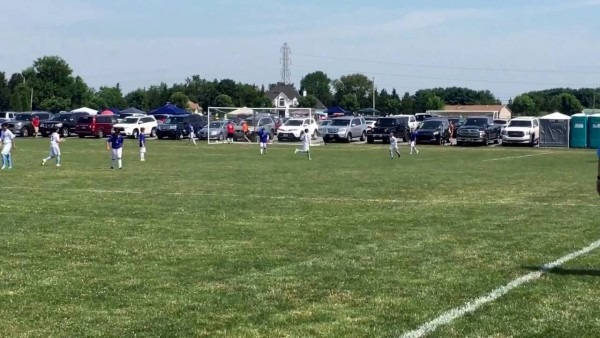 Ryan's Assist To Justin Vs Sportika At The 2016 Central Jersey