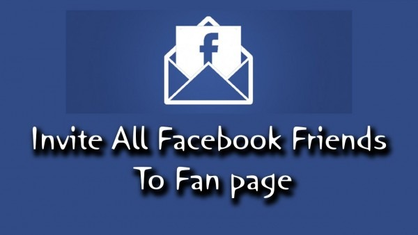 How To Invite All Friends To Facebook Page 2017 (in Single Click