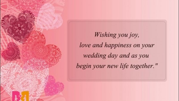 Wedding Wishes, Messages And Quotes
