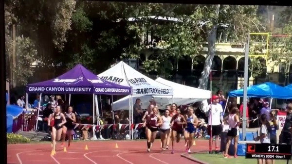 2017 Bryan Clay Invitational @ Azusa Pacific Girls 800m Dash