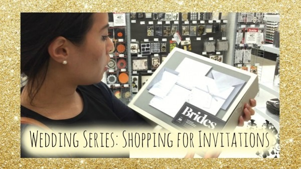 Wedding Series Ep 1  Shopping For Invitations
