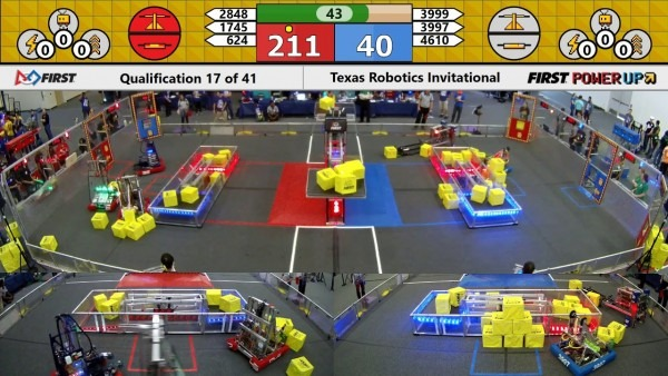 Qm17 2018 Texas Robotics Invitational
