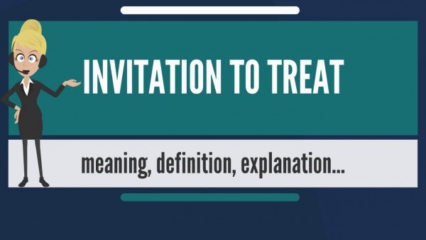 What Is Invitation To Treat  What Does Invitation To Treat Mean