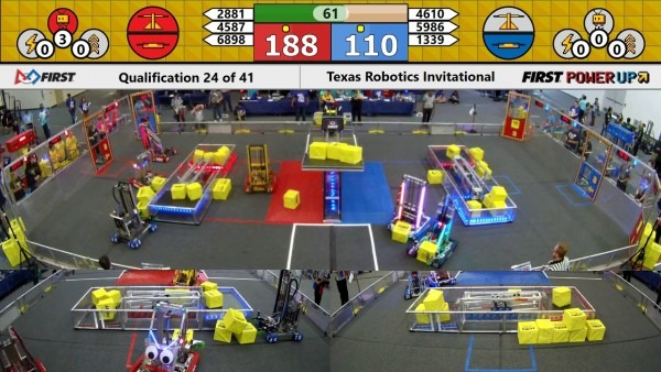 Qm24 2018 Texas Robotics Invitational