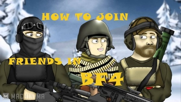 Battlefield 4 (ps4) How To Join On  Friends  From In Game  Menu
