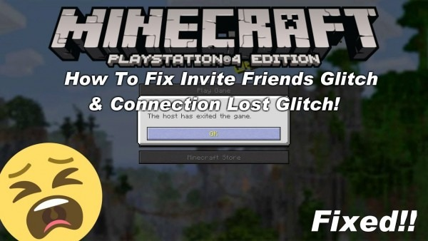 Minecraft Playstation How To Fix The Invite Friends Glitch