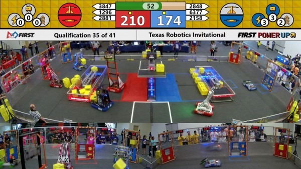 Qm35 2018 Texas Robotics Invitational