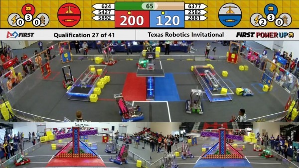 Qm27 2018 Texas Robotics Invitational