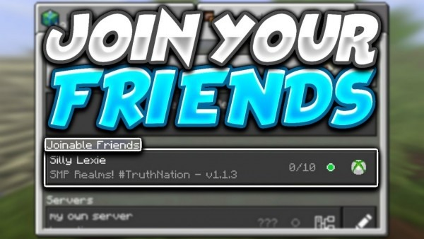 How To Join And Invite Friends To Play In Minecraft (mcpe) 1 8 0