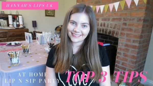 My In Home (lip And Sip) Party Top Tips!
