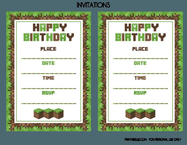 Printables Invitations