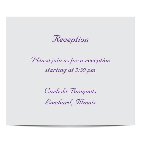 Invitation  Reception Invitation Template
