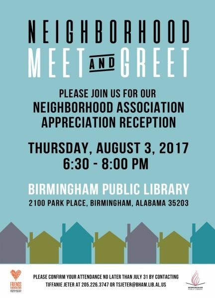 Birmingham Public Library  Central Library Hosting Neighborhood