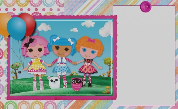 Awesome Lalaloopsy Birthday Invitation Template Surprise Party