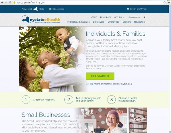 New York Health Insurance Exchange Sees First