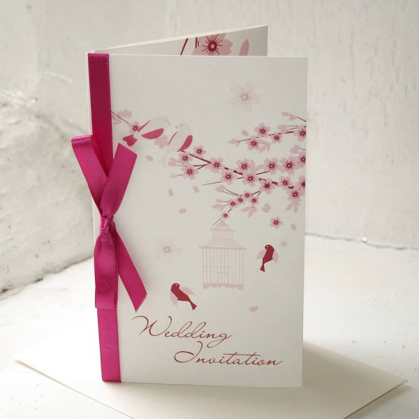 Love Birds Wedding Invitation By The Wild Partridge