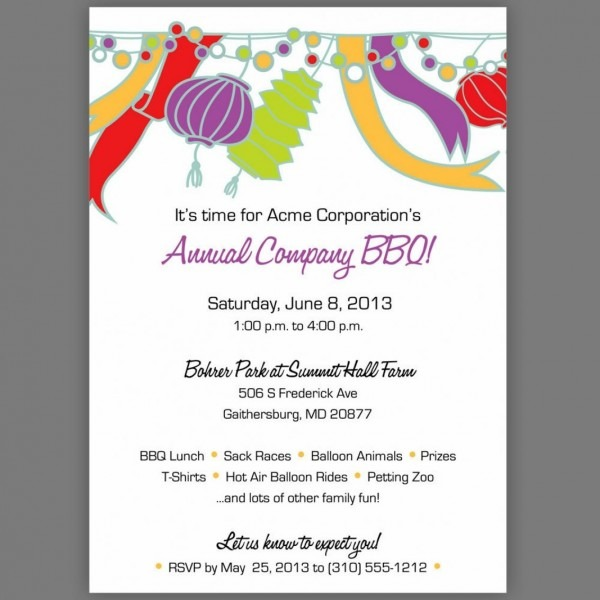 Iftar Party Invitation Letter Popular Party Invitation Sample