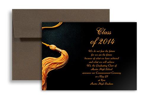 Graduation Invitations Samples