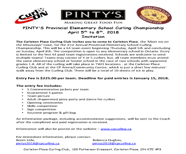 Pintys 2018 Invitation Letter