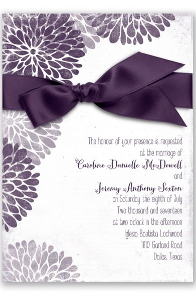 Plum Wedding Invitations Plum Wedding Invitations This Is The