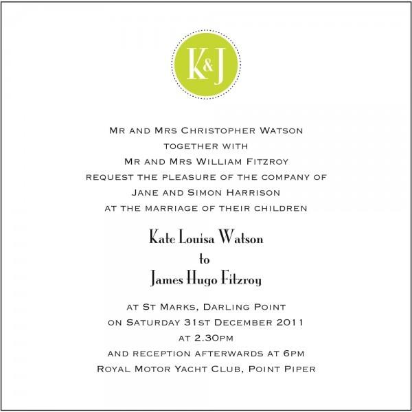 Proper Etiquette For Wedding Invitations