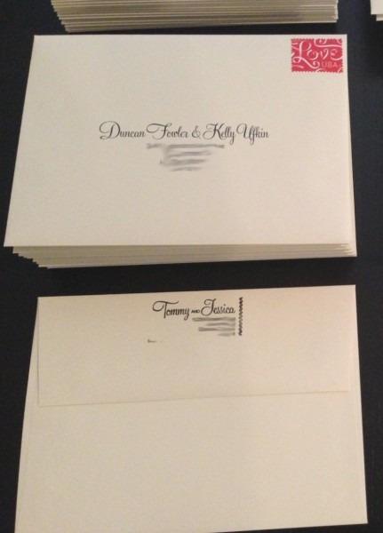 Return Address Label Etiquette Wedding Invitations Diy Return