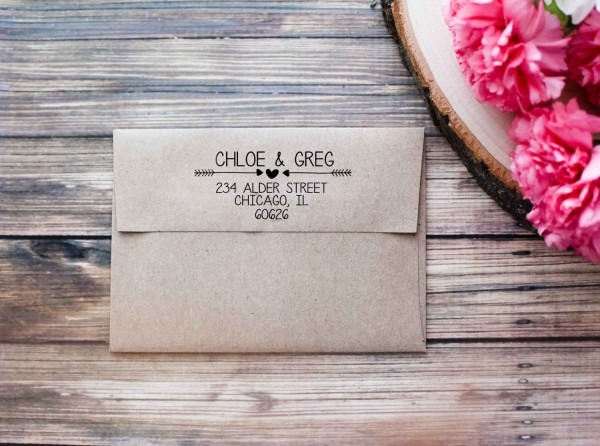 Return Address On Wedding Invitations Return Address On Wedding