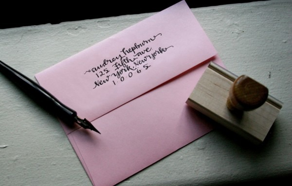 Return Address Wedding Invitations