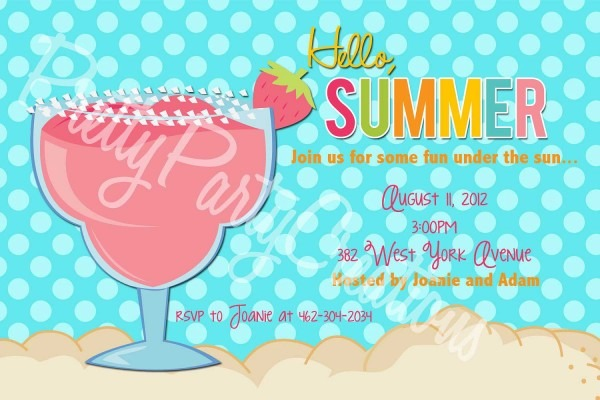 Summer Outing Invitation Template