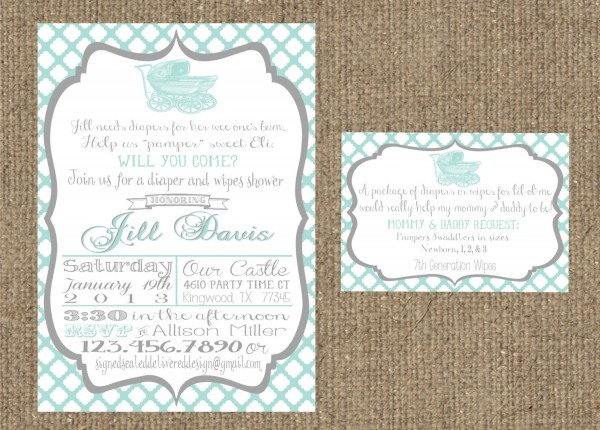 Do You Put Registry On Baby Shower Invitations