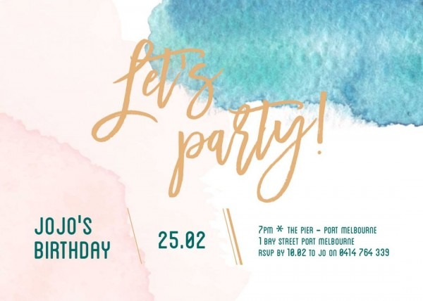 Top Birthday Invitation Templates For Teenagers Party Invitation