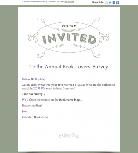 Sample Of Invitation Email For Event