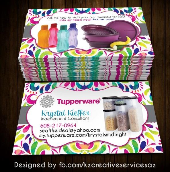 Tupperware Invitations