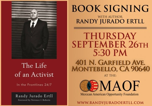 Book Signing At Mexican American Opportunity Foundation – Maof
