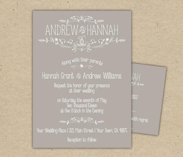 Wedding Invitation Rsvp Wording Wedding Invitation Rsvp Wording