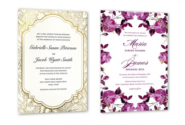 35+ Wedding Invitation Wording Examples 2019