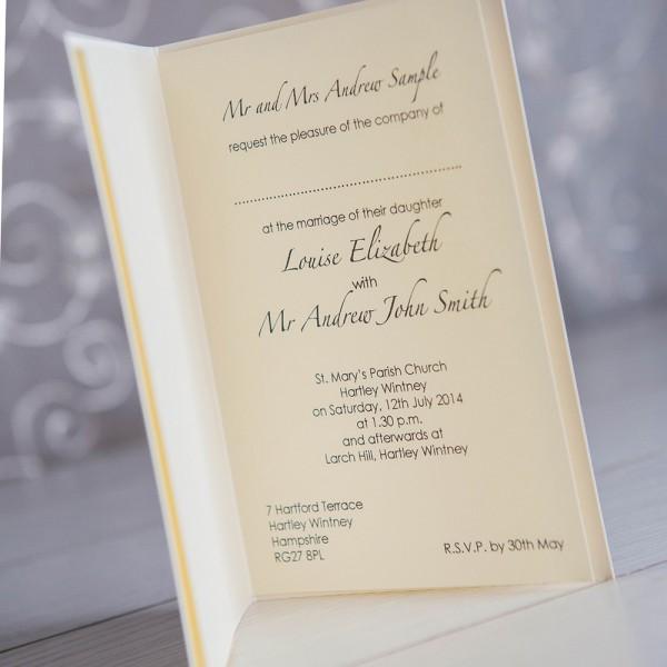 Wedding Invitation Wording  Wedding Invitation Wording No Host