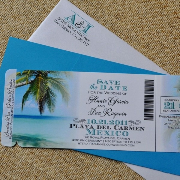 Wedding Invitations Beach Theme For Makes The Wedding Invitation