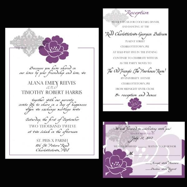 Wedding Reception Invitation Wording Wedding Reception Invitation