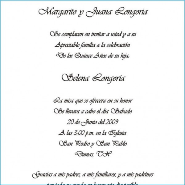 Spanish Themed Wedding Invitations