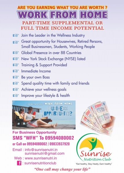 Sunrise Nutrition Club , Herbalife Independent Distributor In Navi