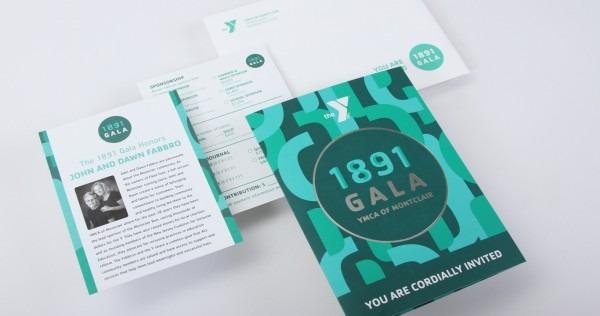 Ymca Of Montclair 1891 Gala Event Branding & Design