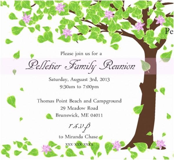 005 Free Printable Family Reunion Invitation Templates Invsite Co