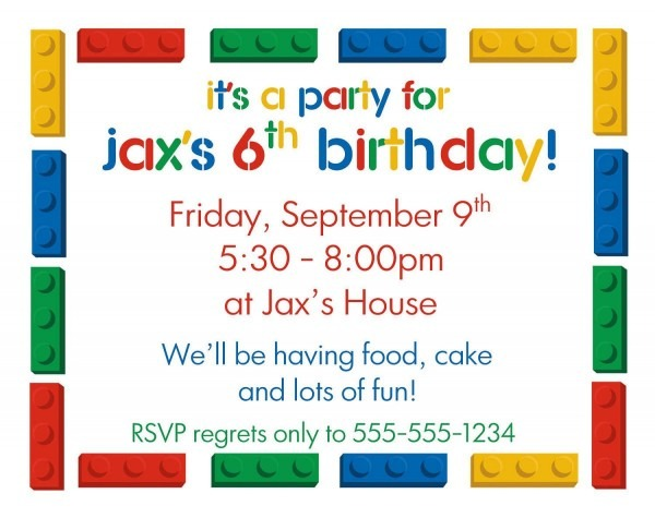 005 Kids Birthday Invitation Template Ideas Free Party 1 ~ Ulyssesroom