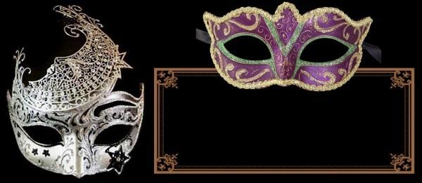 Masquerade Invites Templates