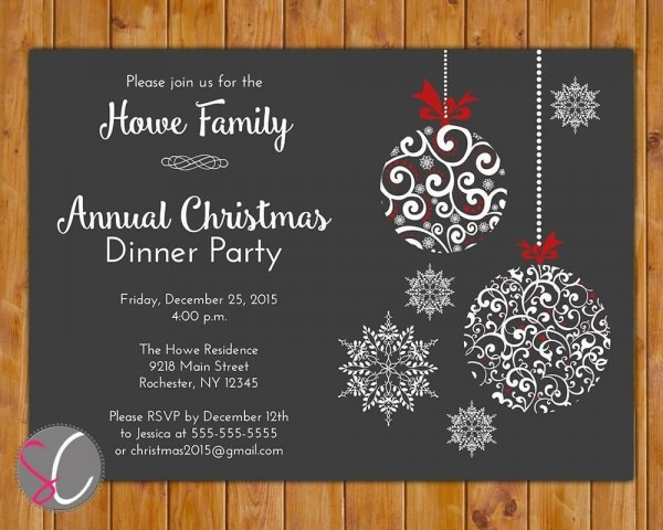 007 Template Ideas Free Holiday Party Invitation Templates