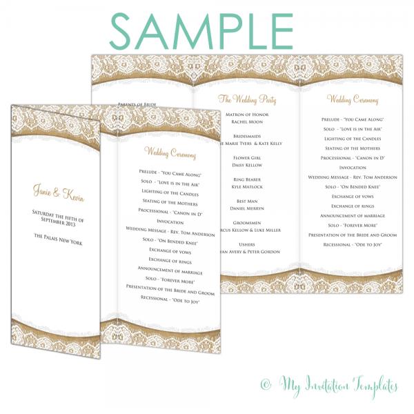 Exceptional Tri Fold Invitations Template ~ Ulyssesroom