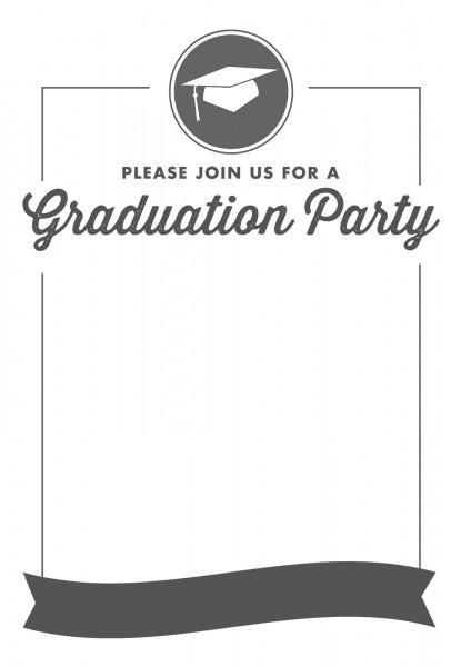 009 Free Grad Party Invitation Templates Template ~ Ulyssesroom