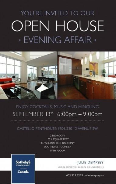 009 Open House Invitation Template ~ Ulyssesroom
