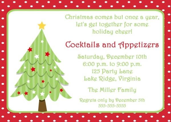 009 Template Ideas Party Invitations Word Christmas Invitation